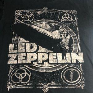 Led Zepplin 2011 T Shirt Women's Medium Cotton